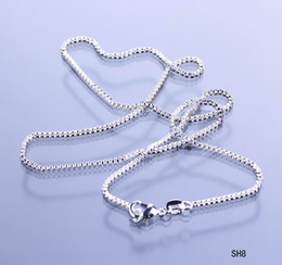 925 Sterling Silver 18inch Necklace Chain Link Solid Bead Fashion Beauty Snake Necklace Collar with Lobster Clasp no Pendant Gift SH8-18inch
