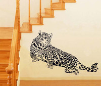 amazing bedroom designs - large black Decorations Amazing Leopard wall Art sticker decals Car Decor Home Room Wall Murals