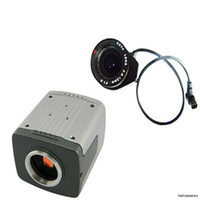CCD Indoor  HD 700TVL Effio-E Sony CCD CCTV Security Varifocal Box OSD Camera 2.8-12mm Lens