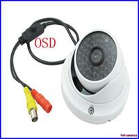 Wholesale Super WDR TVL Sony CCD Effio P OSD Menu CCTV Security Outdoor IR Dome Camera