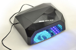 Wholesale UV LED Gel Nail Lamp Long Life Colors W amp W Gel Curing Tube Light Nail Art Polish Dryer Machine V V