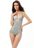 Wholesale women sexy seamless corset magic slim suit body shape underwear ladies shapewear print flower wear