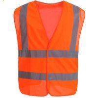 Wholesale 10X Reflective Vest Hi Viz High Visibility Safety Vest Unisex M