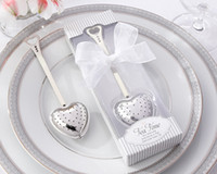wedding souvenirs - Wedding gift for guests quot Tea Time quot Heart Tea Infuser in Elegant White Gift Box For wedding souvenirs and Party gifts