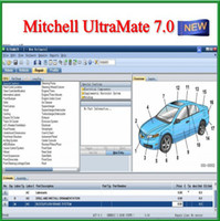 Wholesale 2017 Jan Newest Mitchell UltraMate Collision Estimating System advanced system car repair software by dvds airmail