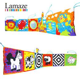 Acheter en ligne Tissu lamaze-LIVRAISON GRATUITE lamaze amusant lit multifonctionnel autour du livre en tissu pour bébés bébé jouet éducatif