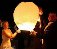 Sky Lantern Holiday  2013 Hot New Kongmingdeng Chinese Fay Balloon Wishing Lamp Paper Sky Candle Xmas Wedding Flying Party Lanterns