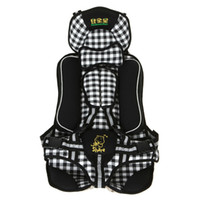 Adjustable baby car safety - S5Q New Portable Baby Child Kids Car Safety Booster Seat Cover Harness Cushion AAABQI