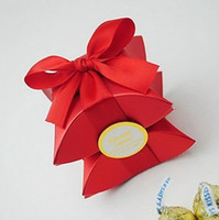 Wedding pillow boxes - Pearl Pillow Favor Box With Ribbon