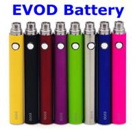Wholesale Evod battery mAh mAh mAh evod Battery for EVOD BCC MT3 VIVI NOVA MINI VIVI NOVA CE4 GLASS TANK atomizer by DHL