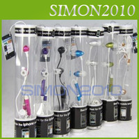 Wholesale Note Metal in ear earphone headphone Mic for iPhone g s G Gs g S C for iPod Samsung HTC mm audio Colorful retail package