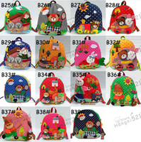 Wholesale Children s backpacks baby Kids Handmade Backpack Schoolbag school bags Satchel book bag
