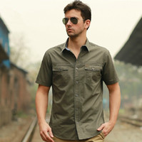 Wholesale 2013 summer new Men s business casual short sleeve shirt Genuine cotton low carbon green environmental protection Fabric