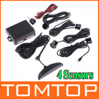 Wholesale 4 Parking Sensors LED Display Car Parking Sensor system LED Parking Reverse Backup Radar System K412