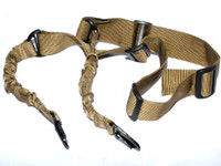 Wholesale Top Quality Airsoft Acid Tactical Two Point Bungee Sling AR15 M4 for rifile gun Tan