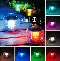 Solar Waterproof LED Grow Light Floating Pond Lamp Ball For Outdoor Party Garden Decoration Top Quality