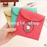 Fabric Bedding Storage Bags Vintage fluid sanitary napkin sanitary napkin bags storage bag storage bag girls