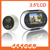 Wholesale 3 quot LCD Digital Doorbell Door Peephole Viewer Picture Taking Security Camera