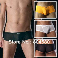 Cheap Men short Underwear Best Boxers & Boy Shorts Christmas Mens Pouch