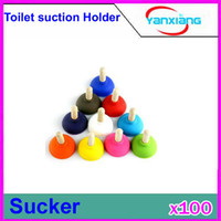 Wholesale CHpost Toilet suction mobile phone seat holder silicone cellphone strap stent RW L11