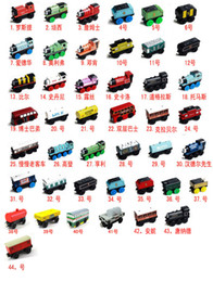Wholesale TRAIN CAR OF wooden Complete set of car toy train toys set