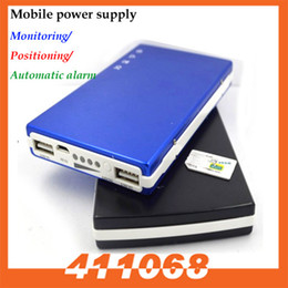 Wholesale Quadband GSM MHz Power Bank Shape Spy GSM Bug Listening Device with Voice Activated Call Back Function Long Time Working