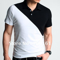 Men 100% Linen Fashion Free Shipping PJ Mens Fashion Short sleeve Polo Shirt for Men 4 Size XS~L CL3045