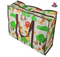 Wholesale Family pouch bags cute cartoon children s bedding baby quilt storage bag pouch toys bags