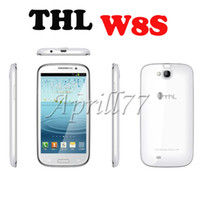 Wholesale THL W8 W8S Inch FHD Screen MTK6589T Quad Core GB RAM GB ROM Android GHz P G GPS Bluetooth MP P HD Record