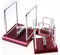 Wholesale Newton s Cradle Fun Steel Balance Ball Desk Toy