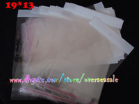adhesive plastic clips - 19 Universal Clear transparent seal self adhesive Plastic Retail PP Poly bag bags Package For Belt clips leather case cover