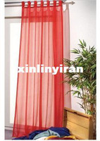 Wholesale hot amp europe gauze curtain window curtain voile curtain by China Post Air Mail F377
