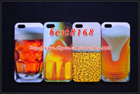 For Apple iPhone Plastic For Christmas Wine beer Footprint keep calm dog snoopy whiskey Hard plastic Case For iphone 5 5G cartoon skin cover garfield odie telephone lovely cases