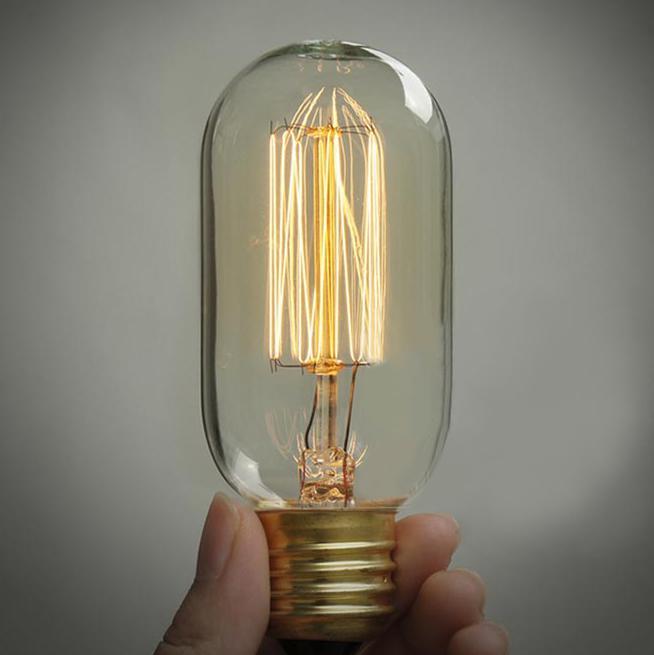 2017 1910 antique vintage edison light bulb 40w 110v 220v. Black Bedroom Furniture Sets. Home Design Ideas