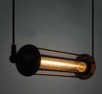 Wholesale RARE Vintage Style Loft Edison hotel cafe bar resturent Pendant Lamps ceiling Chandelier Light Hot item
