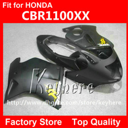 Free 7 gifts injection fairing kit for Honda CBR1100XX 2006 2007 CBR 1100XX 06 07 CBR 1000 XX fairings g1k flat black body motorcycle parts
