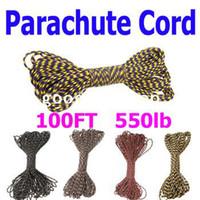 Wholesale 10PCS Desert Parachute Kit Paracode Cord Core Strand FT Nylon Survival Colors Choice