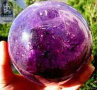 Wholesale RARE RAINBOW AMETHYST QUARTZ CRYSTAL SPHERE BALL mm