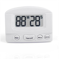 Wholesale Pieces New LCD Display Portable Professional Electronic Large Screen Countdown Timer White