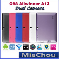 7 inch 3d pc camera - Q8 F1 Inch Android Tablet PC Q88 Allwinner A13 GHz WIFI MB DDR3 GB Dual Camera Google Play Store G D Game UK
