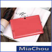 Wholesale Q8 Inch Android Tablet PC Q88 Allwinner A13 GHz WIFI MB DDR3 GB Dual Camera Google Play Store USB G D Game