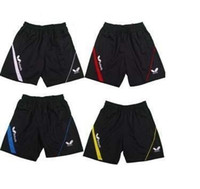 Wholesale High Quality Butterfly Table Tennis Sportswear Shorts Ping Pong Shorts Pants