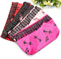 Wholesale Lace caring cosmetic bag multi function travel Wristlet Pouch Storage Bags waterproof cosmetic bag new