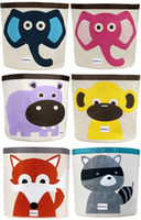 Clothing bin bag - NEW Animal Storage Boxes amp Bins Pouch Storage Bags Received Box baby Personality of the storage bag mixed colors DZY686G
