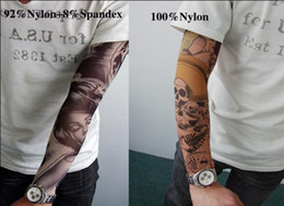 Wholesale printing seamless tattoo sleeve cuff seamless nylon cuff designs