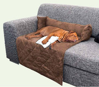Wholesale Suede soft pet couch Pet Sofa Dog Bed Dog Blanket