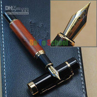 Calligraphy & Fountain Pens Other Metals Shanghai China (Mainland) JINHAO 650 NATURAL ROSEWOOD FOUNTAIN PEN 18KGP BROAD NIB WITHOUT ORIGINAL BOX