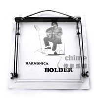 Wholesale 24 harmonica mount halter neck type harmonica rack