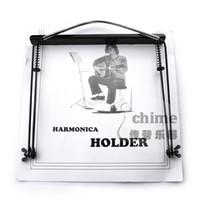 Wholesale 24 harmonica mount halter neck type harmonica rack