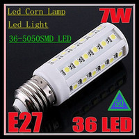 50x Led Corn Lamp E27 E26 E14 B22 36- 5050 SMD LEDS 7W Led Li...